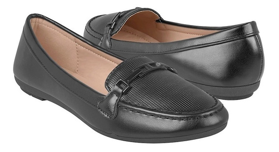 Zapatos Casuales Para Dama Furor 15766 Negro