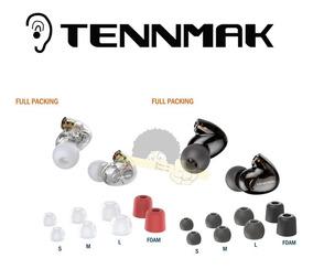 Fone De Ouvido Tennmak Pro 4 Drives(2l+2r) - Par De Cabeças