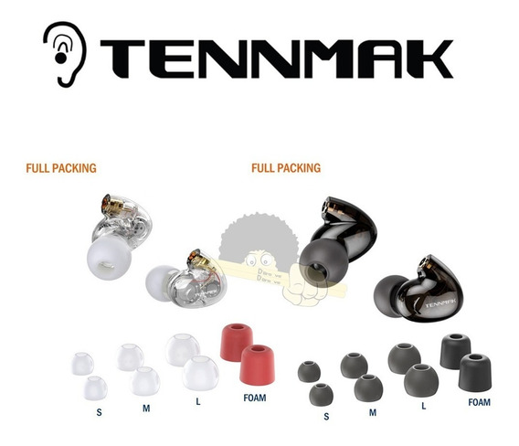 Fone De Ouvido Tennmak Pro 4 Drives(2l+2r)-somente A Cabeça