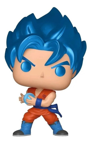 Boneco Funko Pop Dragon Ball Super Goku Blue Kamehameha 563