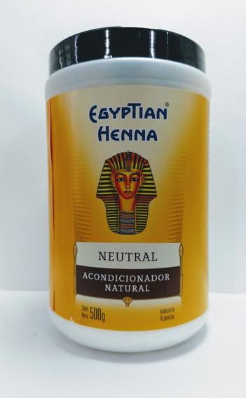 Henna Egyptian Polvo Pote X500g