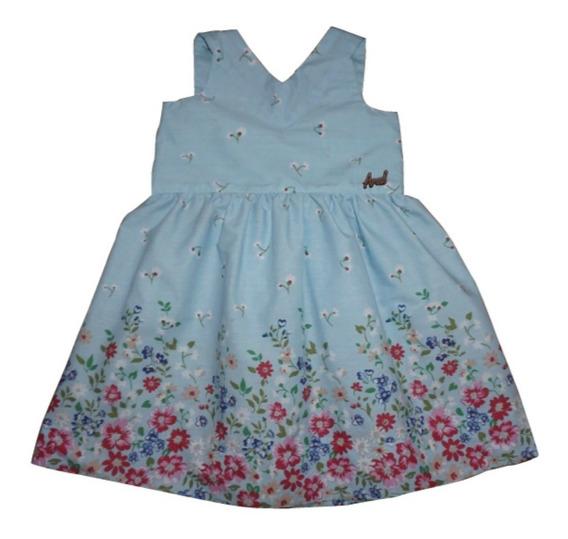 Vestido Nenas Talle 6 Y 8