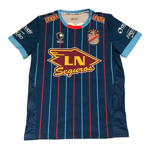 Imagen 1 de 2 de Camiseta Arsenal De Sarandi Alternativa Azul Lyon 2021/22