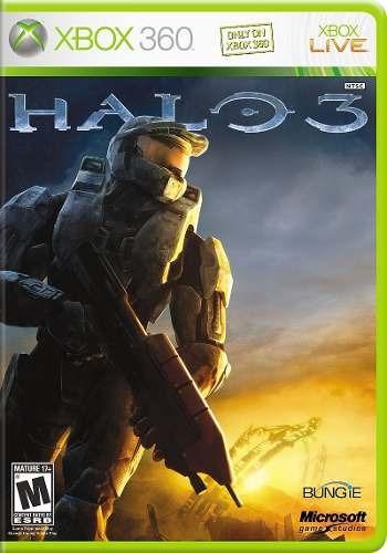 Halo 3 Xbox 360 X360 Xbox One Xone Original Frete R$12