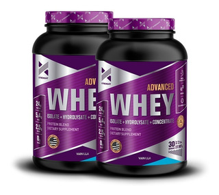 Advanced Whey Protein 2 Lb 2x1 Xtrenght Proteina Aislada Hidrolizada Concentrada