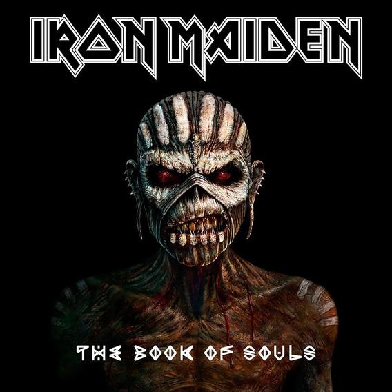 Iron Maiden The Book Of Souls - Novo Original E Lacrado