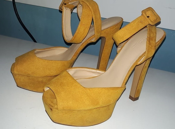 Sapato Alto Zara 37