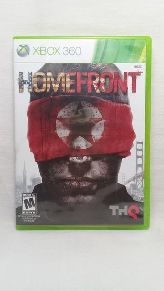 Homefront Xbox 360 Original Completo Usado