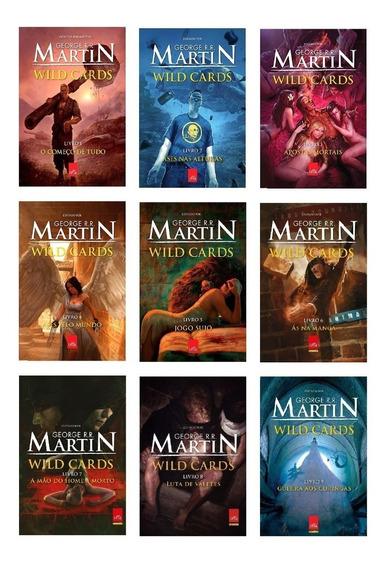 Kit Livros Wild Cards - 9 Volumes - George R. R. Martin