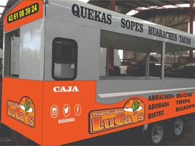 Remolque Nuevo Equipado/térmico/ Foodtrucks