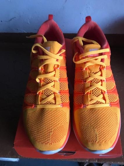 Tênis Nike Flyknit Lunar2 - Tamanho 44