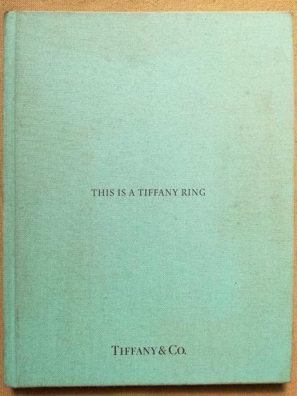 Catálogo De Anillos Tiffany&co. Actual.