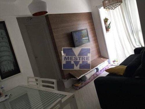 Apartamento Com 2 Dormitórios À Venda, 52 M² Por R$ 279.720,02 - Ponte Grande - Guarulhos/sp - Ap1461