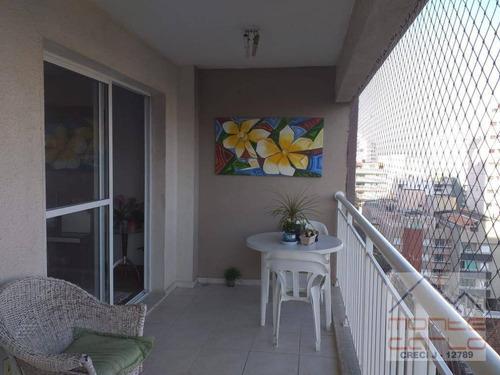 Imagem 1 de 15 de Apartamento Com 3 Dormitórios À Venda, 104 M² Por R$ 595.000 - Centro - São Bernardo Do Campo/sp - Ap0911