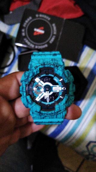 Relógio Casio G-shock Ga110-sl 3adr