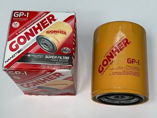 Filtro De Aceite Gonher Gp-1