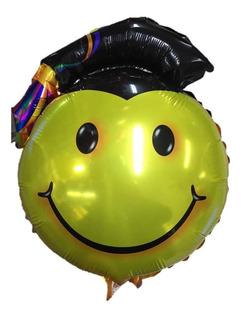Globo Metalizado Grado Graduación Diploma 9 Pulgadas