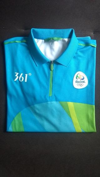 Camiseta Oficial Técnico Rio 2016