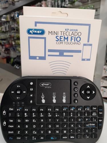 Mini Teclado Sem Fio Kp-2031a