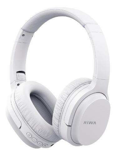 Imagen 1 de 5 de Auricular Bluetooth Aiwa Plegable Ava-bt301b Mic