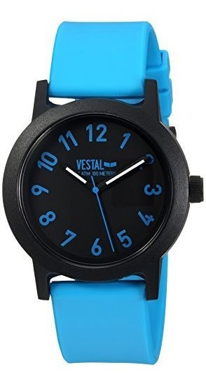 Vestal Alpha Bravo 10 Atm Reloj De Cuarzo Japonés Con Correa
