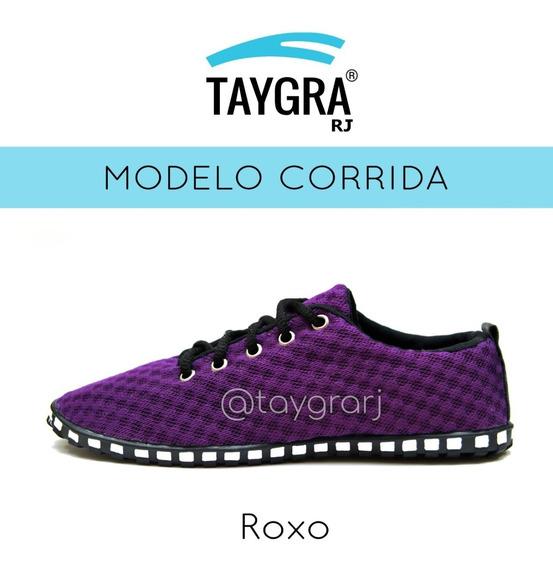 Tênis Taygra Modelo Corrida Comfort Roxa