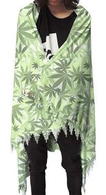 Canga Tropical Verão Praia Piscina Weed 420 Cannabis Ganja