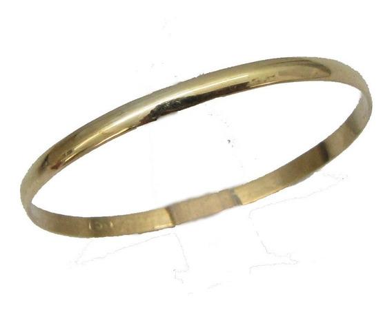 0859 Aliança De Casamento Fina Em Ouro 18k 750 Rpw