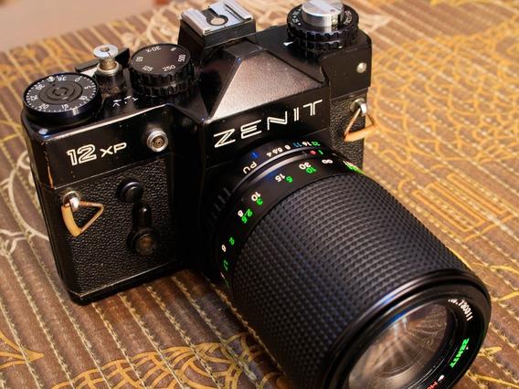 Câmera Zenit 12xp+ Lente Zenit 70-200 Mm