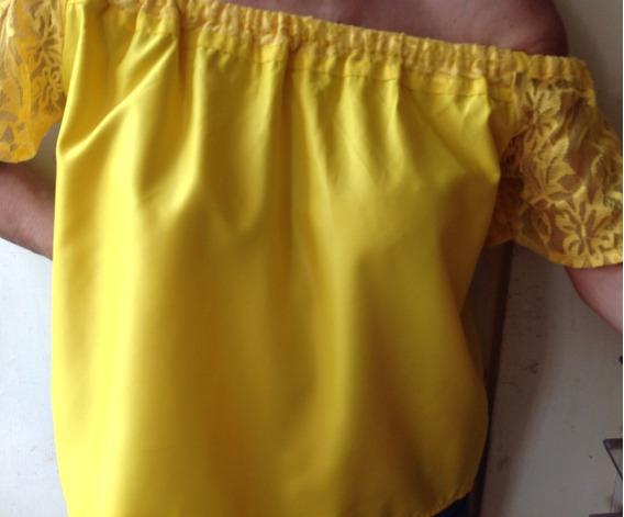 Blusa Para Damas, De Moda, Blusa Campesina, Off Shoulder