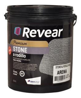 Stone A Rodillo Revear Revestimiento Acrilico 30kg Rex