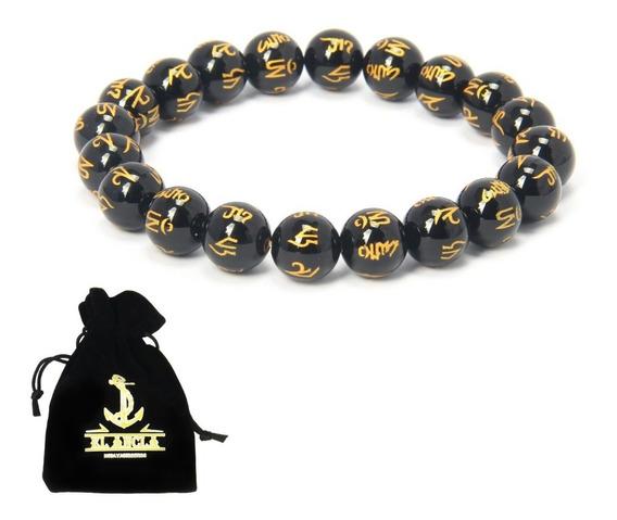 Pulsera Tibetana Amuleto Budista 100% Om Mani Padme Oracion