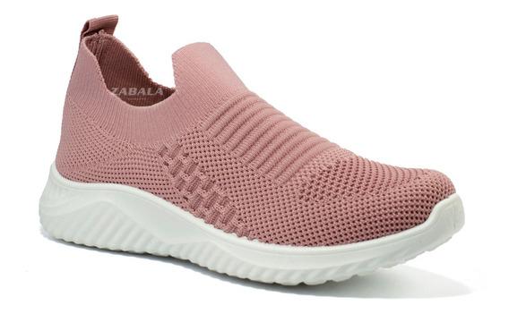 Zapatillas Mujer Wake Urbanas Tejido Elastizado