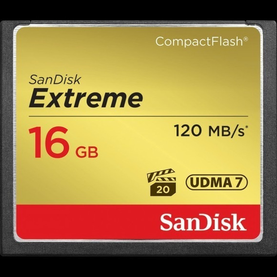 Compact Flash 16gb Sandisk