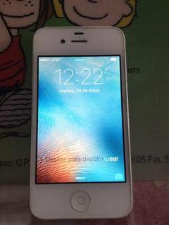 iPhone 4s De 8 Gb En At&t Blanco