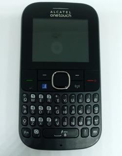 Celular Alcatel 3075m Preto C/ Avaria S/ Garantia