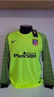 Camisa Atletico De Madrid Verde Goleiro Oblak 13 La Liga