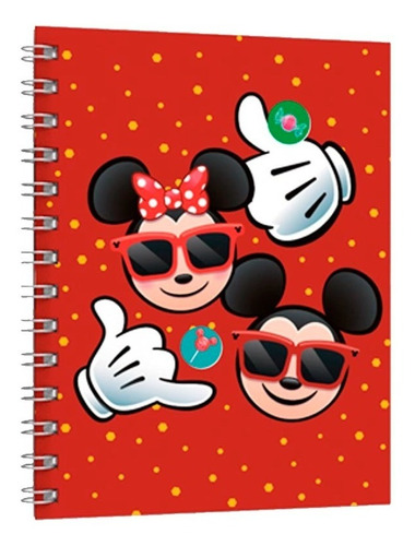 Cuaderno Universitario Tapa Dura Disney Emoji