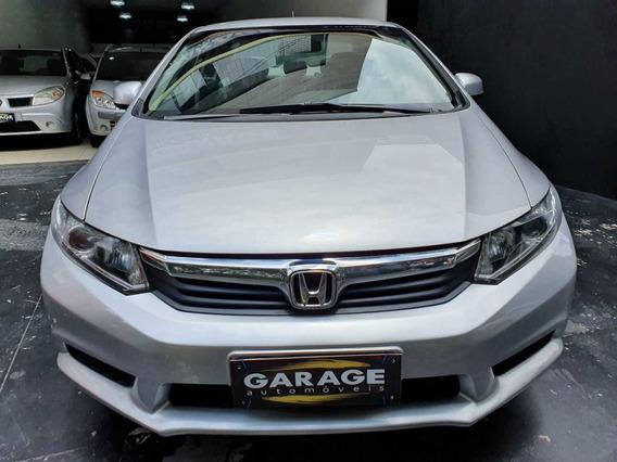 Honda Civic Lxs 2013 Automático Prata