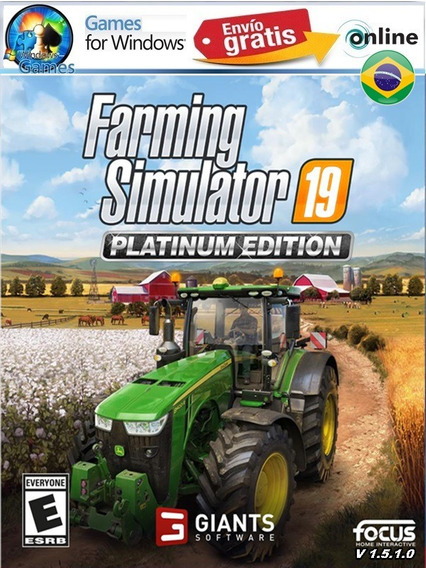 Farming Simulator 19 Pc Steam Offiline Envio Ja