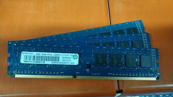 Memoria Ram Ddr3 Ramaxel/kingston 4gb 1600mhz Para Desktop
