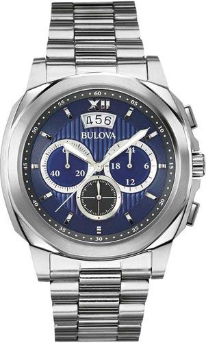 Relógio Bulova Masculino Cronógrafo Wb31818f