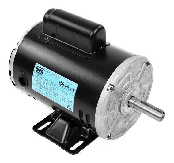 Motor Eléctrico Monofásico 0.25 Hp Weg 1760 Rpm 12165854