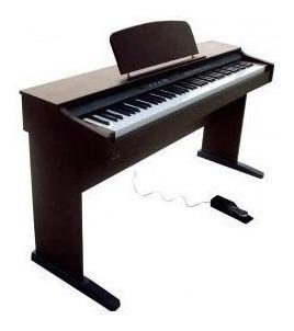 Piano Digital 88 Teclas Con Mueble Rosewood Ringway Rp120