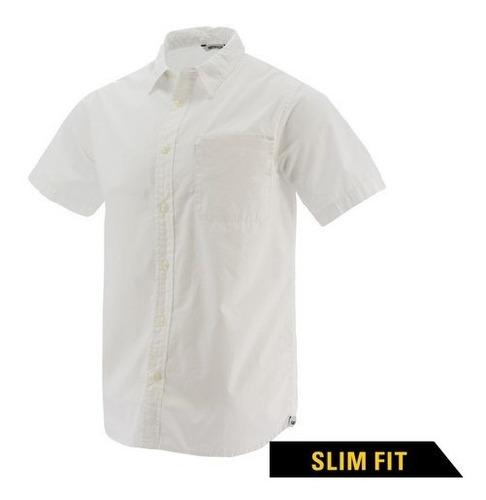 Camisa Cat Manga Corta Blanco - 2610447-10110-m