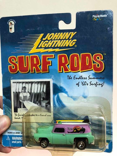 Johnny Lightning Surf Rods 1954 Chevy Panel Waimea Mamas