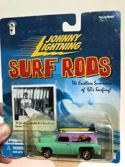 Johnny Lightning Surf Rods 1954 Chevy Panel Waimea Mamas