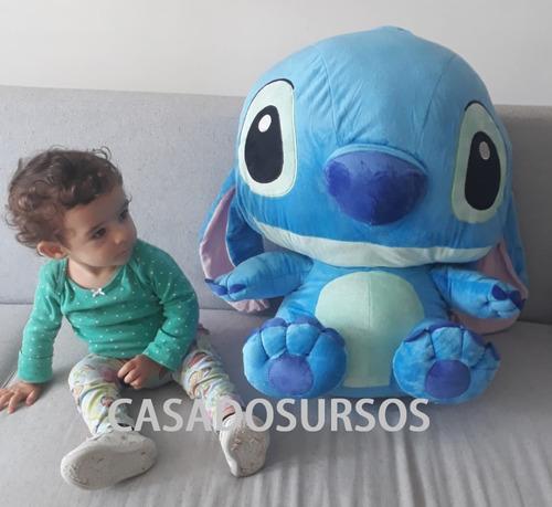 Imagem 1 de 6 de Pelúcia Lilo Sttich Boneco Azul Presente Brinquedo Crianças