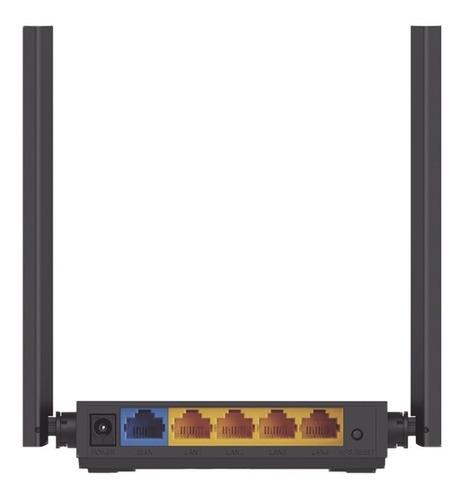 Imagen 1 de 3 de Router Inalámbrico Doble Banda 4 Antenas Ext. Archerc50