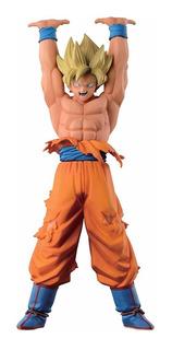 Figura Goku Súper Sayayin Dragon Ball Z 24cms Genkidama